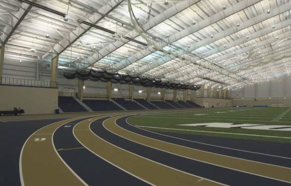 University of Akron Athletic Field House and Varsity Golf Training Center