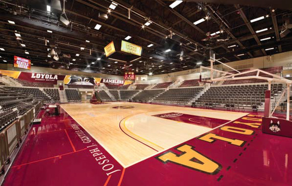 Loyola University Chicago New Athletic Center and Arena Reconstruction