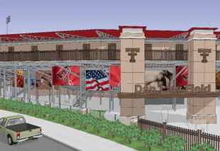 Texas Tech University Dan Law Field Renovations